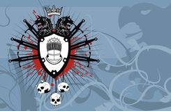 Heraldic coat of arms backgroundv3. Heraldic coat of arms background in format very easy to edit vector illustration
