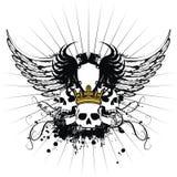 Heraldic coat of arms ornament 2. Heraldic coat of arms ornament in format stock illustration