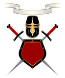 Heraldic composition. Stock Images