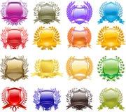 Heraldic crest Royalty Free Stock Photography