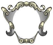 Heraldic crest Royalty Free Stock Image