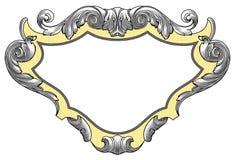 Heraldic crest Stock Images