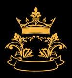 Heraldic crown Stock Images