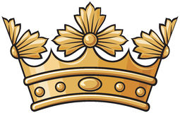 Heraldic crown Royalty Free Stock Photos