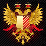 Heraldic design Royalty Free Stock Photo