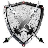 Heraldic design Stock Photos