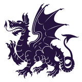 Heraldic dragon Royalty Free Stock Photos