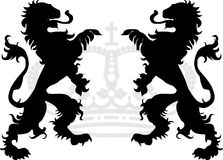 Heraldic Dragons Stock Photos