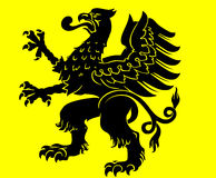 Heraldic eagle Royalty Free Stock Images