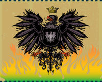 Heraldic eagle Royalty Free Stock Photo