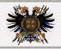 Heraldic eagle Stock Photography
