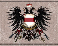 Heraldic eagle Royalty Free Stock Photography