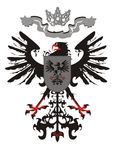 Heraldic eagle with a crown Stock Photo
