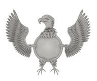 Heraldic eagle Stock Photography
