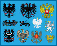 Heraldic elements Stock Photos