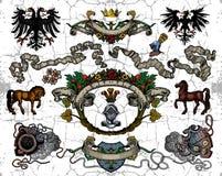 Free Heraldic Elements Royalty Free Stock Photo - 14495795