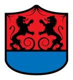 Heraldic emblem Stock Image