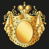 Heraldic emblem Royalty Free Stock Photography