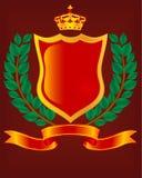 Heraldic escutcheon. Stock Image