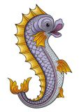 Heraldic Fish Royalty Free Stock Images