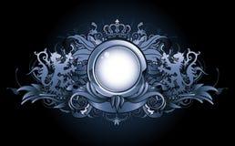 Heraldic frame Stock Image