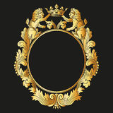 Heraldic Frame Stock Photo