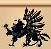 Heraldic griffin Royalty Free Stock Photography