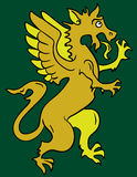 Heraldic griffin Stock Photos