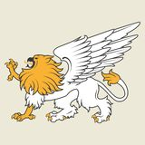 Heraldic griffin Stock Photography