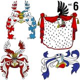 Heraldic Helmets vol.6 Stock Photos