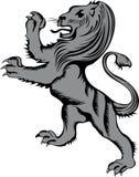 Heraldic lion. Vector illustration heraldic lion eps8 Stock Photography