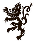 Heraldic lion Royalty Free Stock Photography