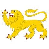 Heraldic lion Stock Image