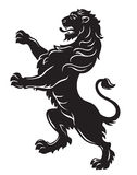 Heraldic lion Stock Photos
