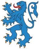 Heraldic lion, . Stock Photography