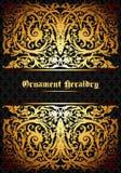 Heraldic ornament Stock Photo