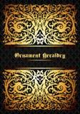 Heraldic ornament Royalty Free Stock Images