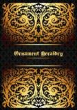 Heraldic ornament Stock Image