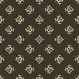 Heraldic pattern in beige color. Royalty Free Stock Photo