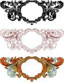 Heraldic pattern Stock Photo