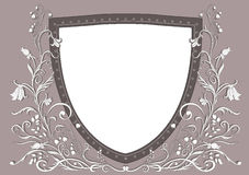 Heraldic sheld Royalty Free Stock Image
