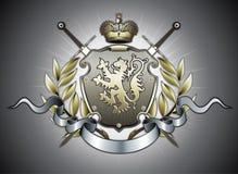 Heraldic shield Stock Images