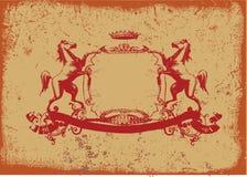 Heraldic Shield Royalty Free Stock Photography