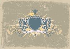 Heraldic shield Stock Photos