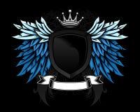 Heraldic shield design Stock Image