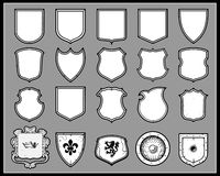 Heraldic Shields Stock Photos
