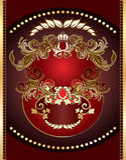 Heraldic sign Royalty Free Stock Image