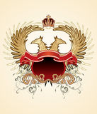 Heraldic sign Royalty Free Stock Photography