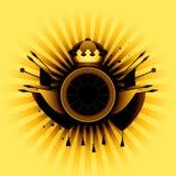 Heraldic simbol Royalty Free Stock Image