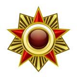 Heraldic star Stock Photo